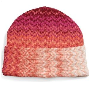 Missing Ombré Beanie Hat NWT